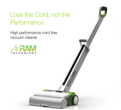 Revolutionary cordless 100W vacuum cleaner | Design-4 ...